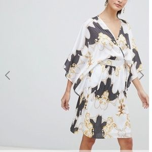 ASOS NWT Flounce London Kimono Caftan Dress